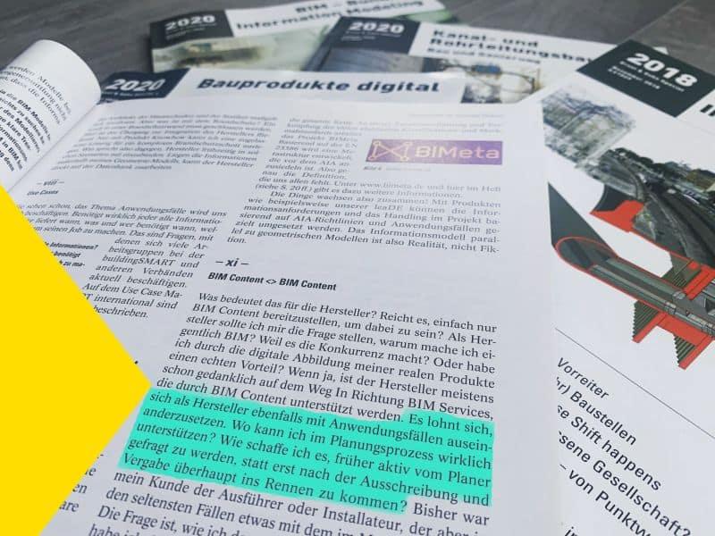 Text Highlight BIM Context Ernst und Sohn Beitrag