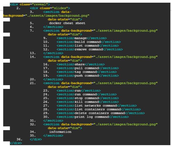 Bild mit Code