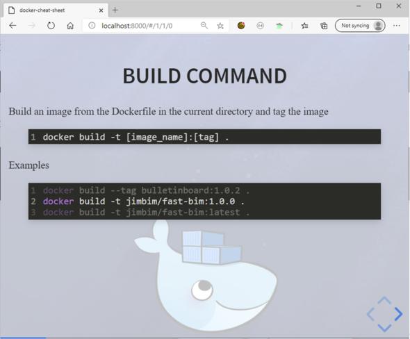 Docker Build Kommando