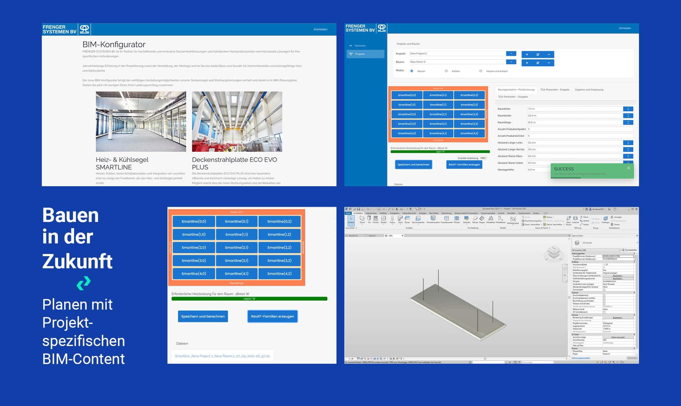 Frenger BIM-Konfigurator - Planen mit Projekt-spezifischen BIM-Content